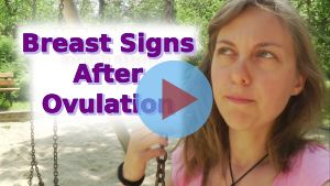 breast pain after ovulation