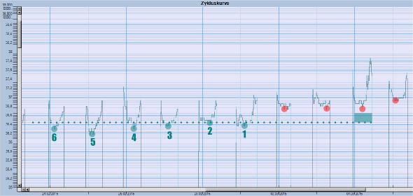 iButton - Measurement Software Body Basaltemperature