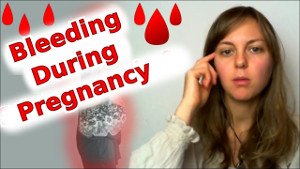 pregnant despite bleeding