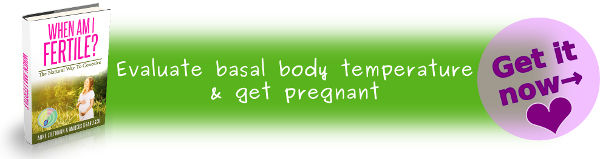 Track basal temperature to get pregnant