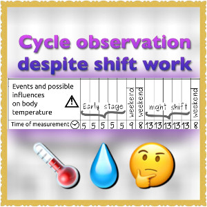 cycle observation despite shift work